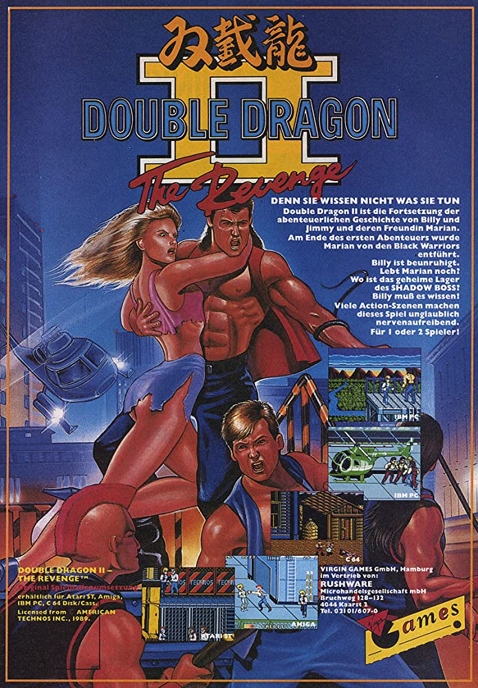 Double Dragon Ii The Revenge 1988