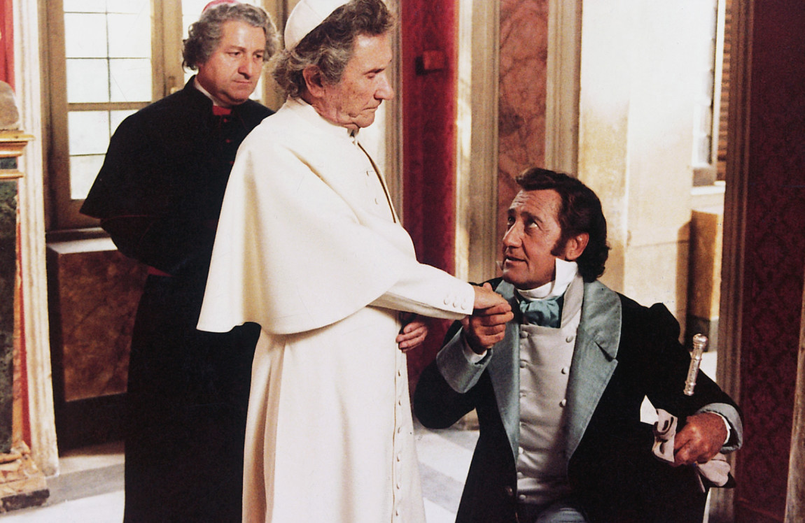 Camillo Milli, Alberto Sordi, and Paolo Stoppa in Il marchese del Grillo (1981)