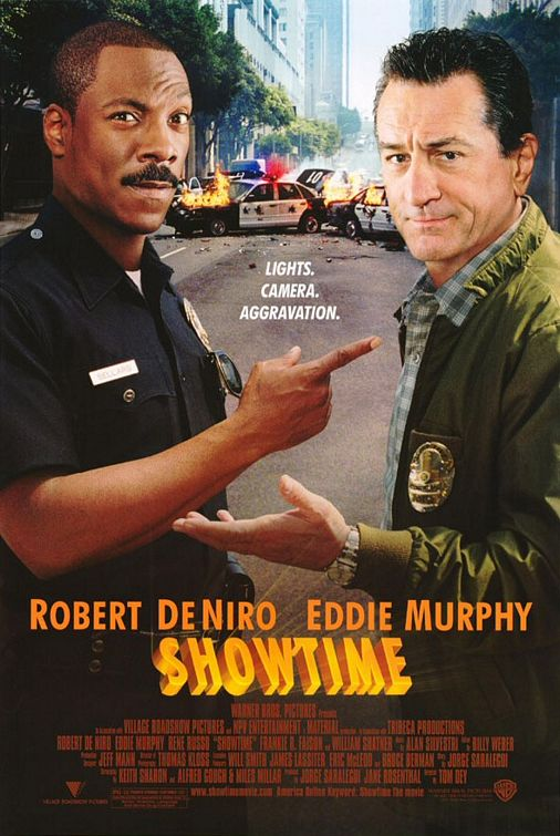 Robert De Niro and Eddie Murphy in Showtime (2002)