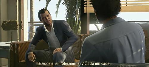 Grand Theft Auto V: Michael (Portuguese/Brazil Trailer Subtitled)