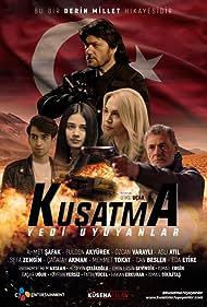 Özcan Varayli, Ahmet Safak, Fulden Akyürek, and Çagatay Akman in Kusatma Yedi Uyuyanlar (2019)