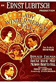 Lady Windermere's Fan(1925) Poster - Movie Forum, Cast, Reviews