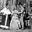 Stanislav Neumann, Vladimír Ráz, and Alena Vránová in Pysná princezna (1952)