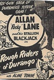 Rough Riders of Durango Poster