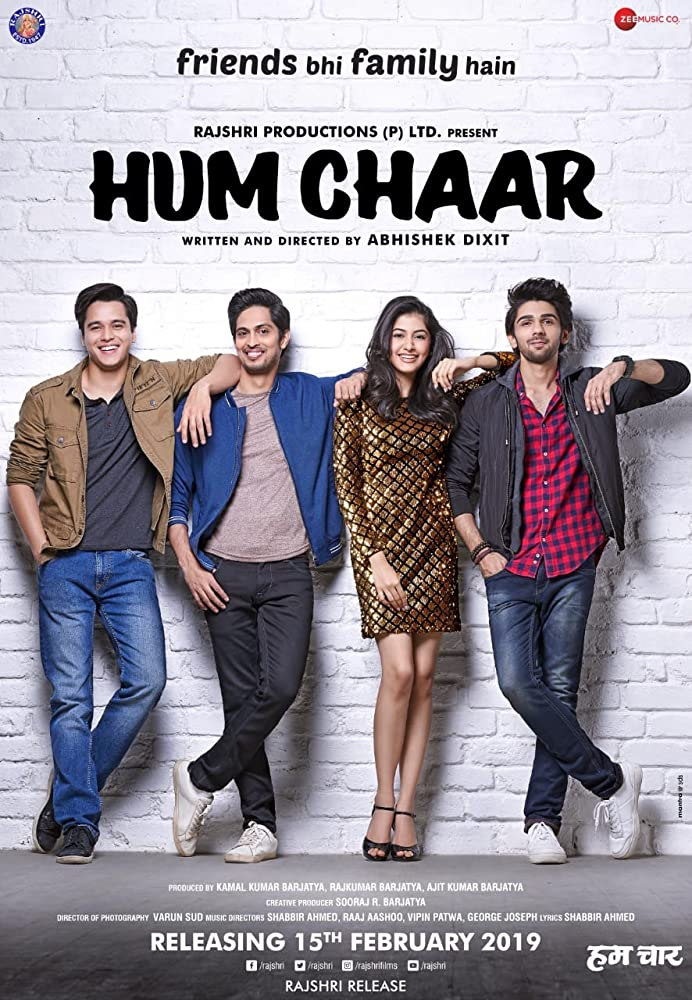Hum chaar (2019) Hindi 700MB Pre-DVDRip x264 Download & Watch Online