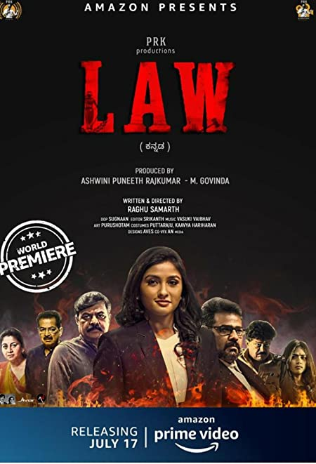 Law (2020) Kannada WEB-DL - 480P | 720P - x264 - 350MB | 1GB - Download & Watch Online  Movie Poster - mlsbd