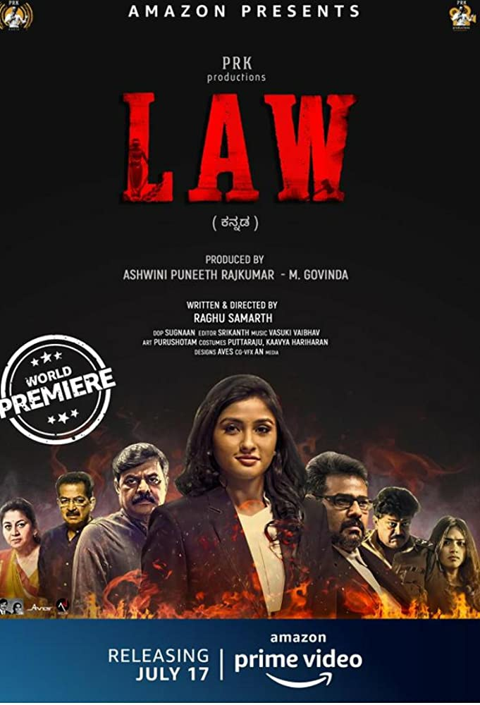 LAW 2020 Kannada Movie 720p HDRip 800MB ESubs x264 AAC