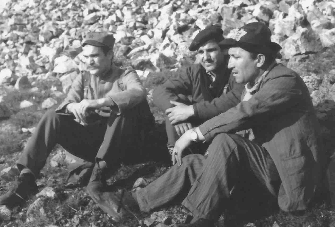 Mija Aleksic, Stojan 'Stole' Arandjelovic, and Velimir 'Bata' Zivojinovic in San (1966)