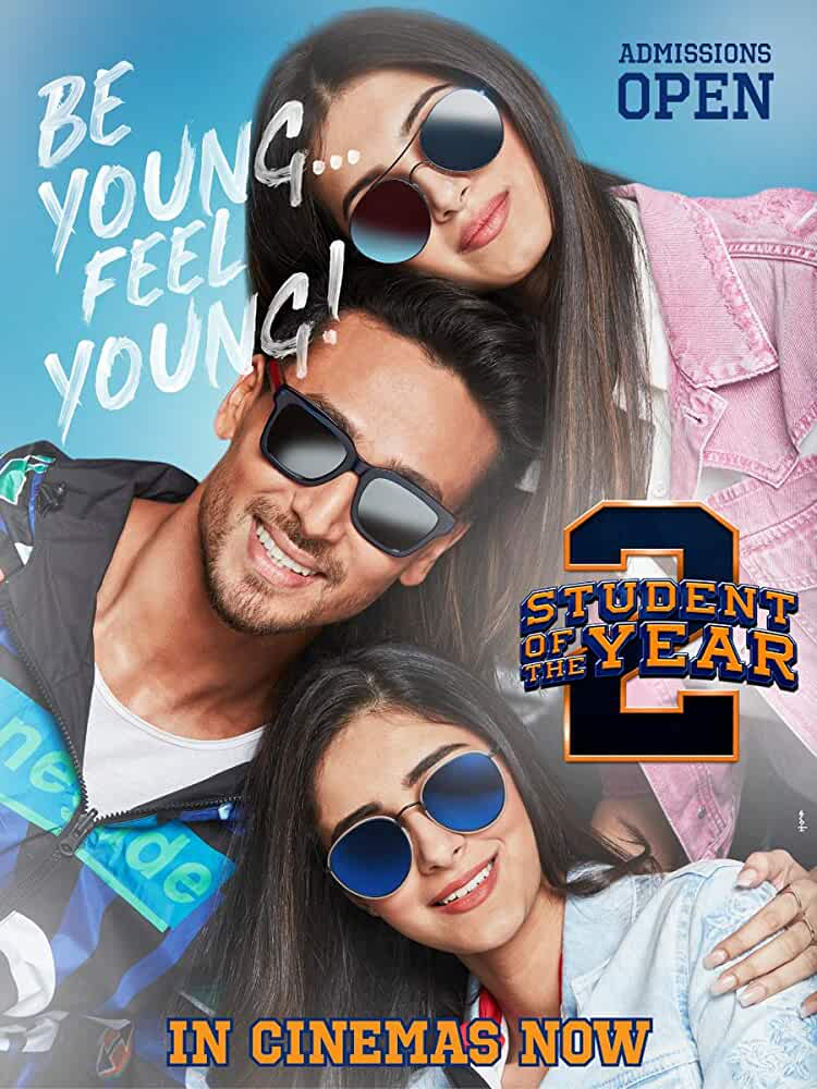 Student Of The Year 2 (2019) Hindi 480p NEW Desi PreDVDRip x264 400MB