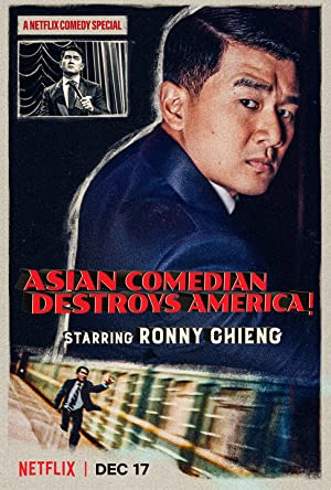 Where to stream Ronny Chieng: Asian Comedian Destroys America