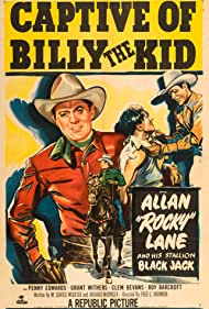 Allan Lane and Black Jack in Captive of Billy the Kid (1952)