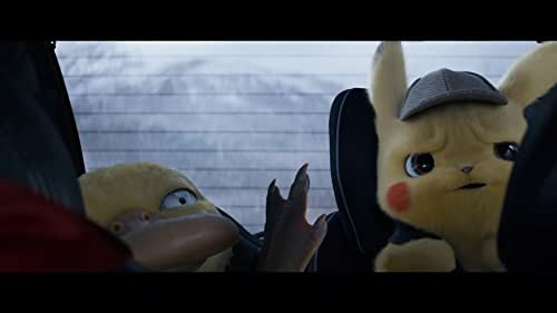 In a world where people collect Pokémon to do battle, a boy comes across an intelligent talking Pikachu who seeks to be a detective. Starring Ryan Reynolds as the voice of Pikachu.