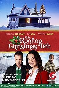 Tim Reid, Michelle Morgan, and Stephen Huszar in The Rooftop Christmas Tree (2016)