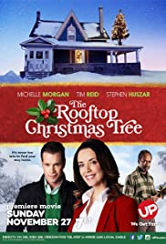The Rooftop Christmas Tree Poster