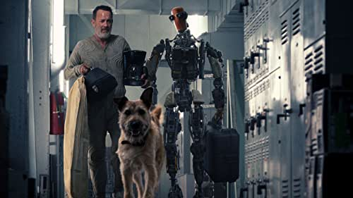 Tom Hanks is Finch, a man who embarks on a moving and powerful journey to find a new home for his unlikely family, his beloved dog and a newly created robot, in a dangerous and ravaged world.  Stream Finch November 5 on Apple TV+