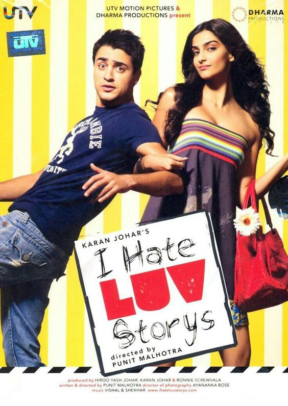 I Hate Luv Storys (2010) Hindi Full Movie 720p BRRip 1GB Download