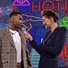 Jermaine Pennant and Emma Willis in Celebrity Big Brother (2001)