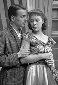 Lisbeth Movin and Erik Mørk in De røde tjørne (1953)