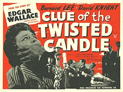 The Clue of the Twisted Candle none
