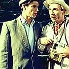 Anatoli Grinevich and Grigori Karpov in Pervyy paren (1959)