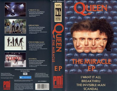 Single download links for movies Queen: The Miracle EP [1280x768]