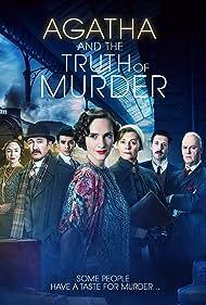 Pippa Haywood, Ralph Ineson, Tim McInnerny, Samantha Spiro, Ruth Bradley, Blake Harrison, and Luke Pierre in Agatha and the Truth of Murder (2018)