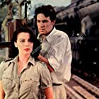 Ava Gardner and Bill Travers in Bhowani Junction (1956)