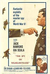 Jack Hawkins in The Two-Headed Spy (1958)