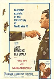 The Two-Headed Spy Poster