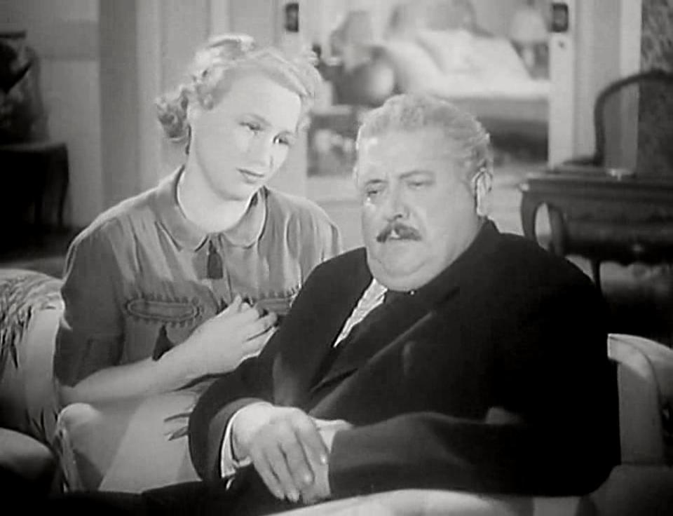 Adina Mandlová and Theodor Pistek in Holka nebo kluk (1939)
