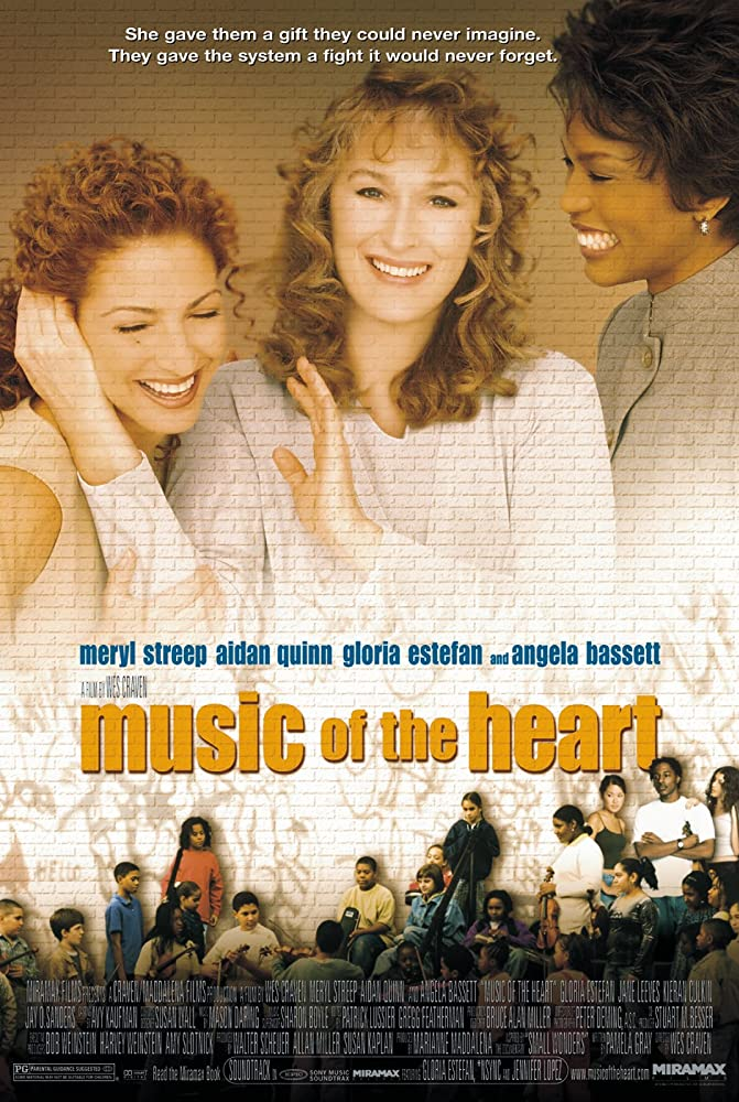Angela Bassett, Meryl Streep, and Gloria Estefan in Music of the Heart (1999)