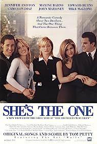 Jennifer Aniston, Cameron Diaz, Maxine Bahns, Edward Burns, and Michael McGlone in She's the One (1996)
