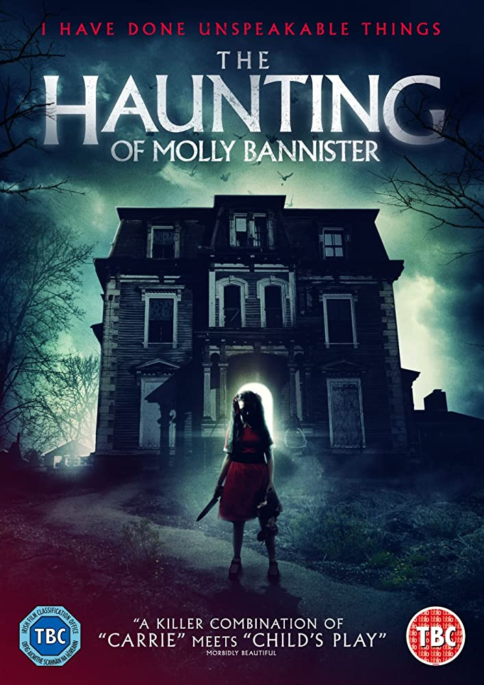 The Haunting of Molly Bannister 2019 English 720p HDRip 795MB Download