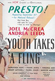 Dorothea Kent, Andrea Leeds, and Joel McCrea in Youth Takes a Fling (1938)