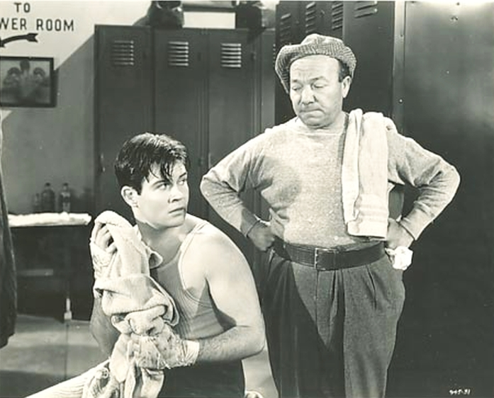 Tom Brown and Pat West in Ex-Champ (1939)