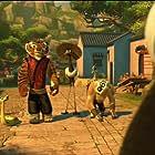 Lucy Liu, Jack Black, David Cross, Seth Rogen, James Sie, and Kari Wahlgren in Kung Fu Panda: Secrets of the Scroll (2016)