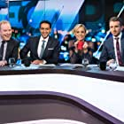 Peter Helliar, Carrie Bickmore, Waleed Aly, and Tommy Little in Episode 12 June 2018 (2018)