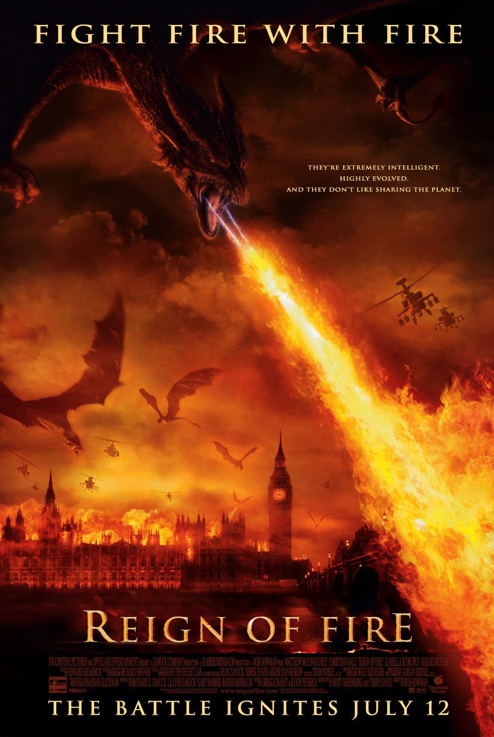 MONSTRŲ ATAKA (2002) / REIGN OF FIRE