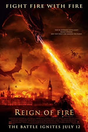 Reign of Fire Pelicula Poster