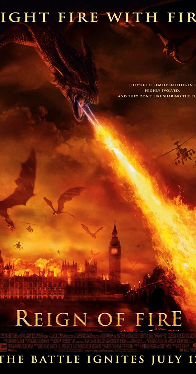 Subtitle of Reign of Fire