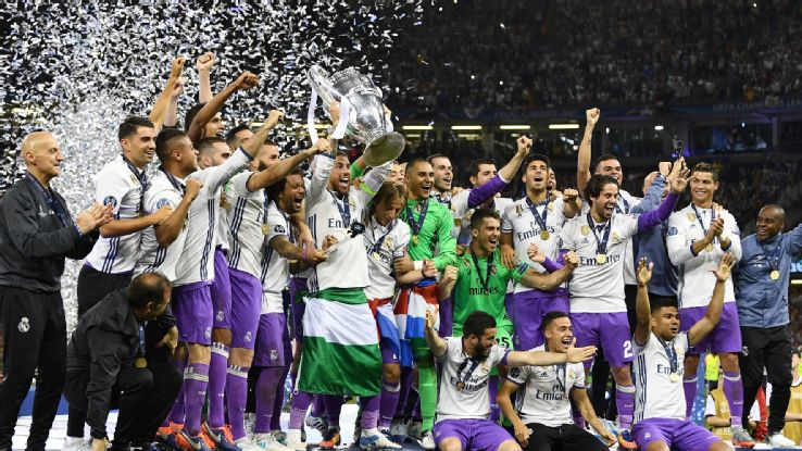 11+ Uefa Champions League Winners 2017