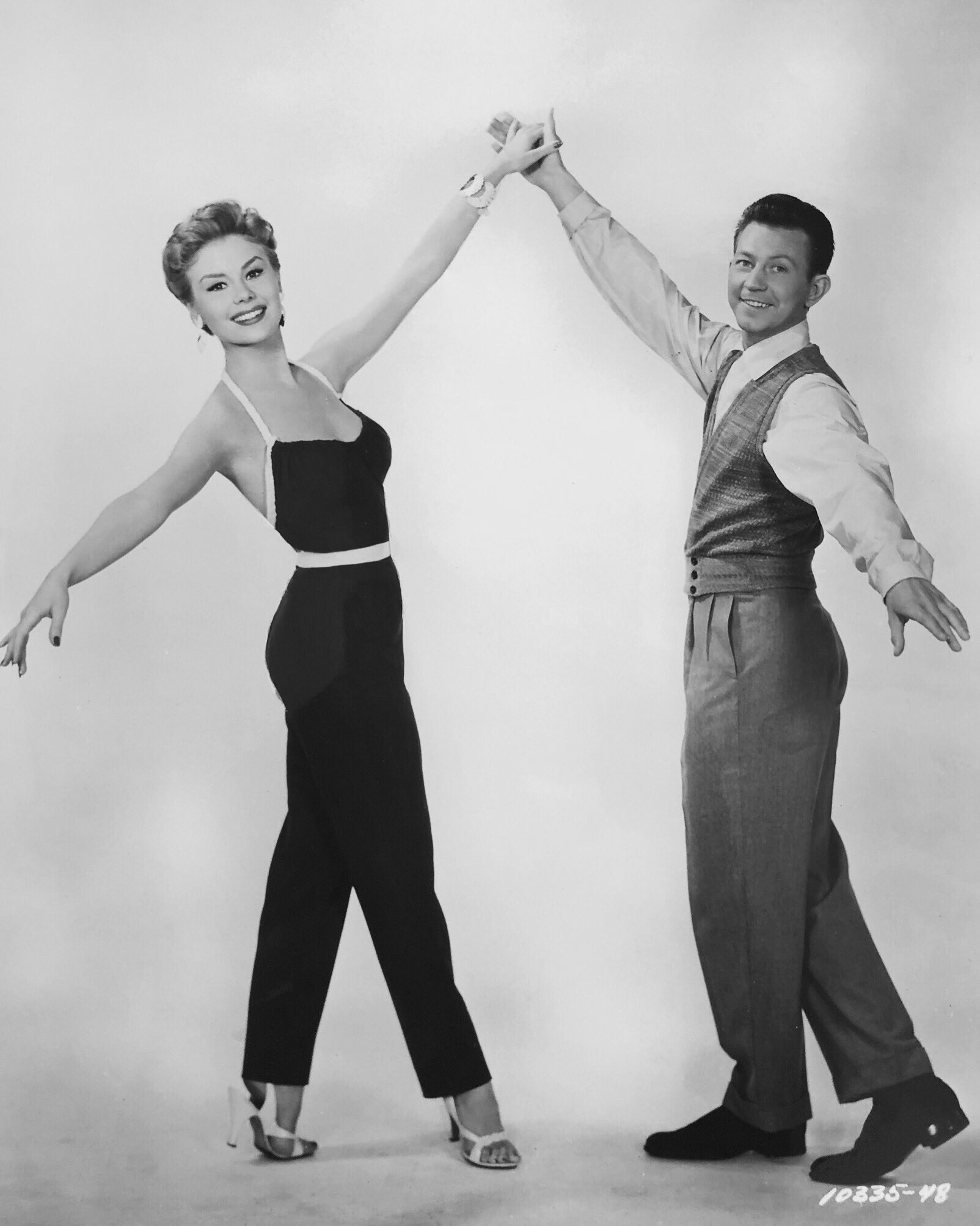 Mitzi Gaynor and Donald O'Connor in Anything Goes (1956)