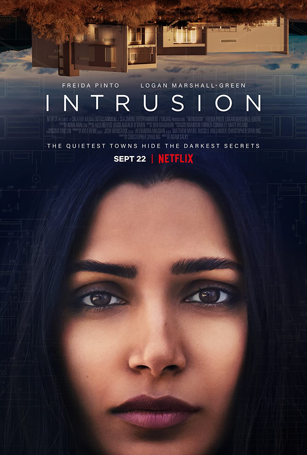 Intrusion (2021) Hindi ORG Dual Audio 300MB NF HDRip 480p ESubs Free Download