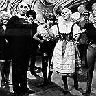Iva Janzurová, Stella Májová, and Karel Pavlík in Zabil jsem Einsteina, panove (1970)