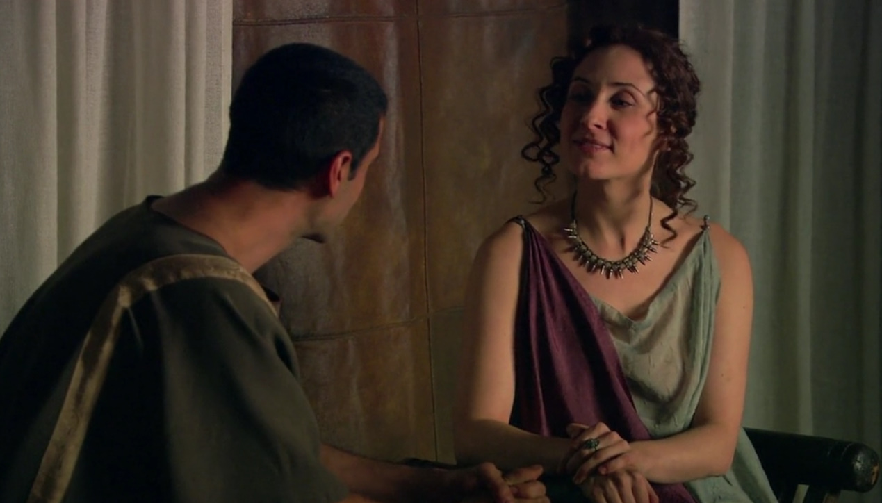 Nathalie Poza and Nacho Fresneda in Hispania, la leyenda (2010)