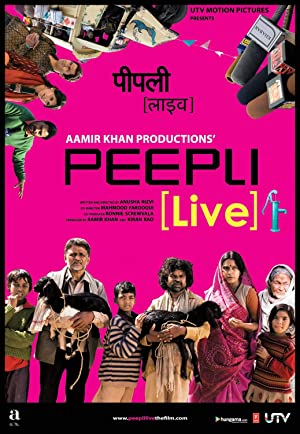 Download Peepli [Live] (2010) Hindi 5.1 Movie 720p | 480p BluRay 1GB | 300MB