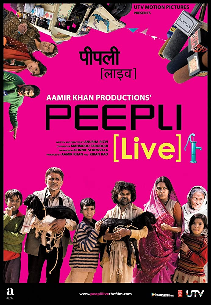 Peepli Live 2010 Hindi 720p BluRay 950mb