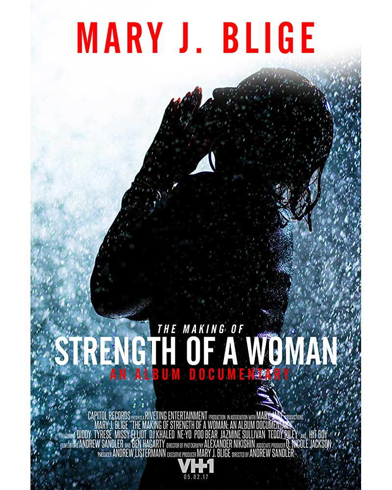 mary j blige the making of strength of a woman an album