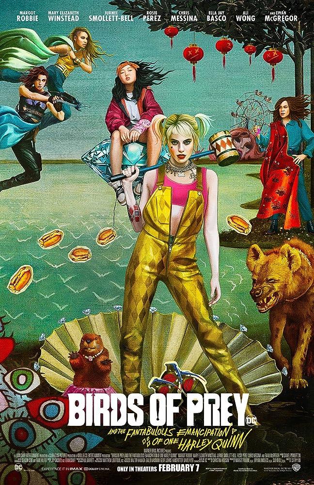Poster Birds of Prey (2020).