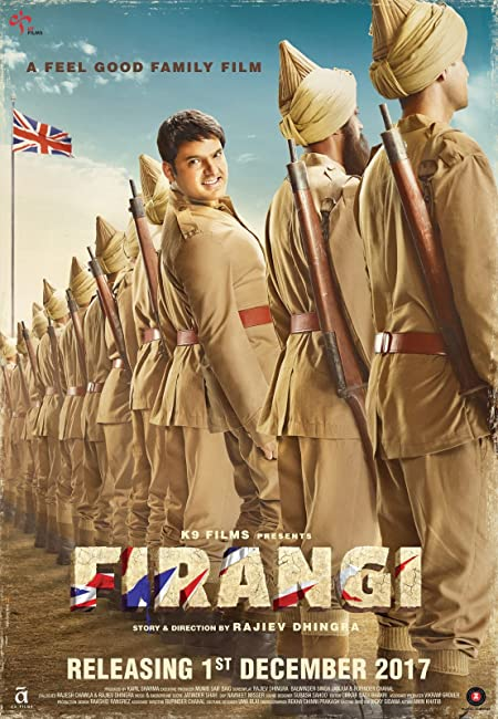 Firangi (2017) Hindi HDTV-Rip - 480P | 720P - x264 - 450MB | 1.2GB - Download & Watch Online  Movie Poster - mlsbd